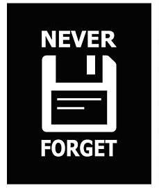 never-forget-disketa